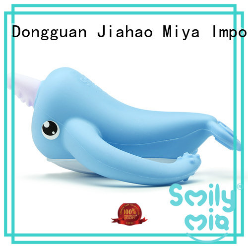 Smily Mia silicone baby teether manufacturer for infants