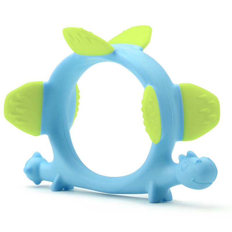 Smily Mia Norman The Dinosaur Teething Toy (3 colors available)