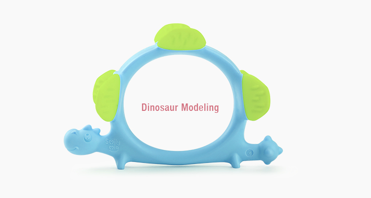 custom silicone teether supplier for baby-4