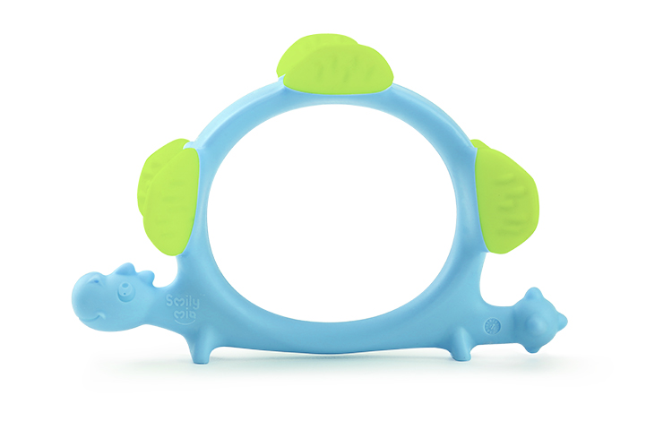 custom silicone teether supplier for baby-8