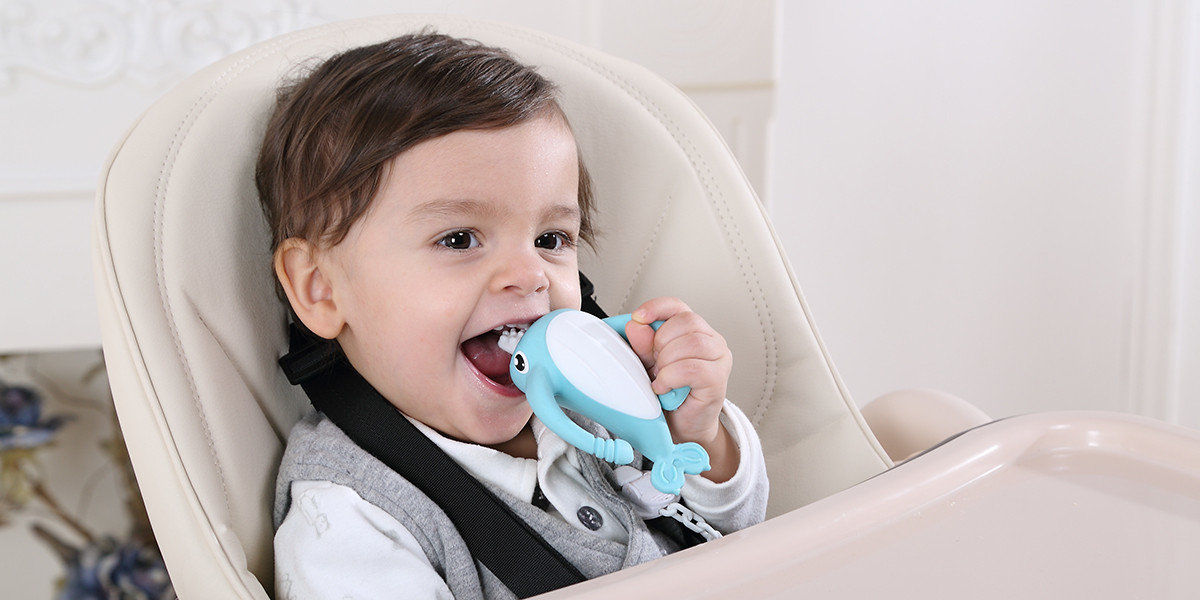 Smily Mia soft silicone teether wholesale manufacturer for toddler