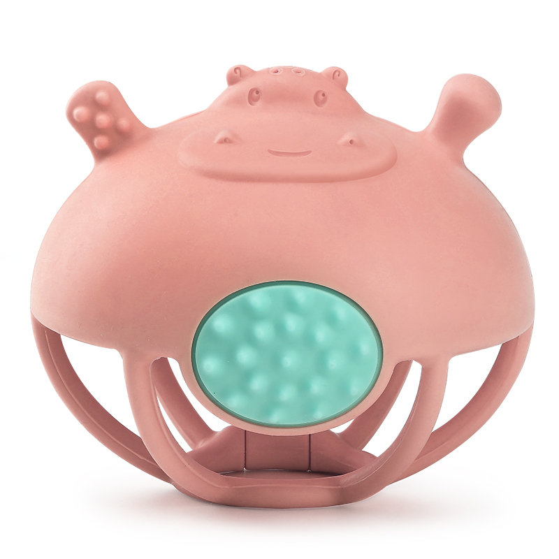 Nick Hippo Animal Teether Toy