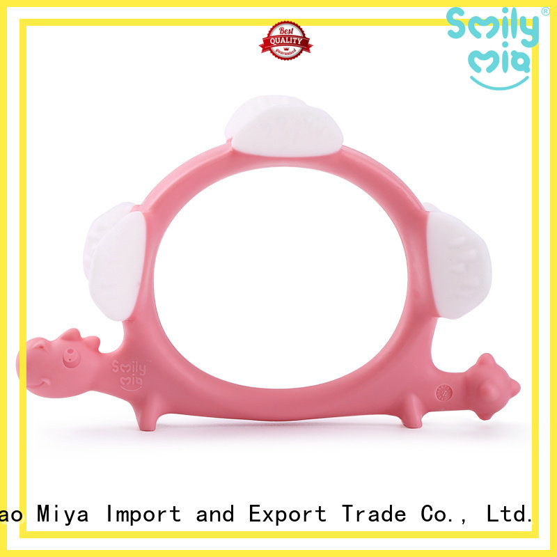 custom silicone teether manufacturer for baby