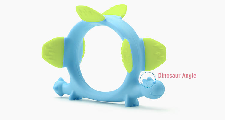 custom silicone teether supplier for baby-3