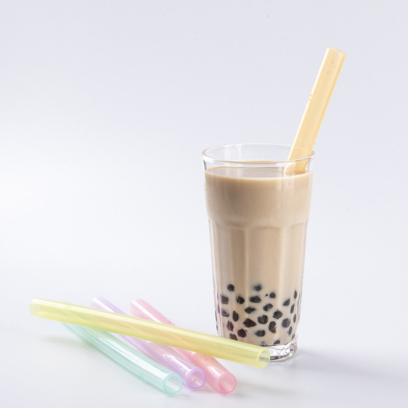 Pearl bubble tea straw((Transparent)