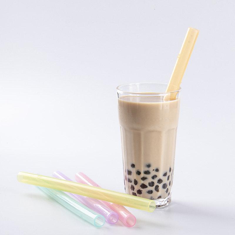 Pearl bubble tea straw((Transparent)
