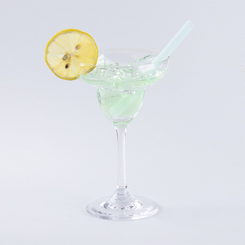 Silicone Vodka Drinking Straw (Transparent)