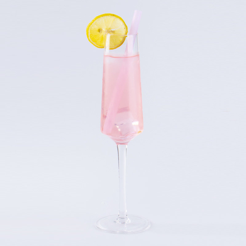 Silicone Cocktail Drinking Straw (Transparent)