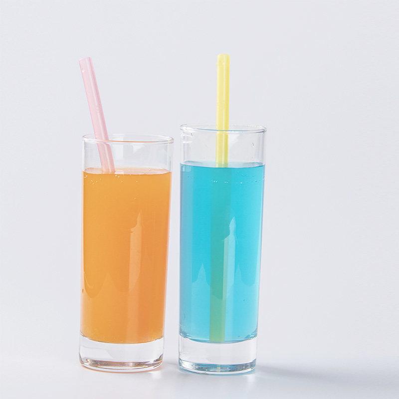 Silicone liquid drinking straw(Transparent)