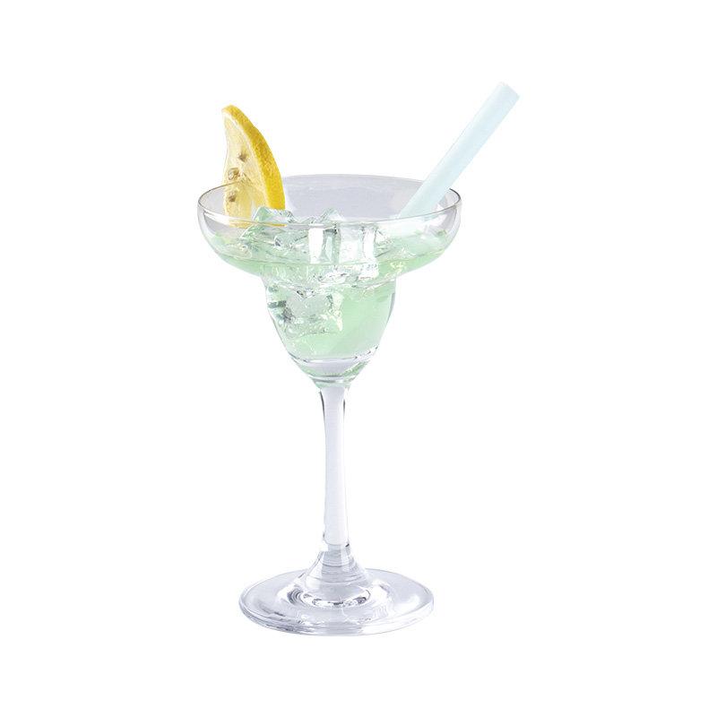 Smily Mia Reusable Silicone Cocktail Drinking Straw