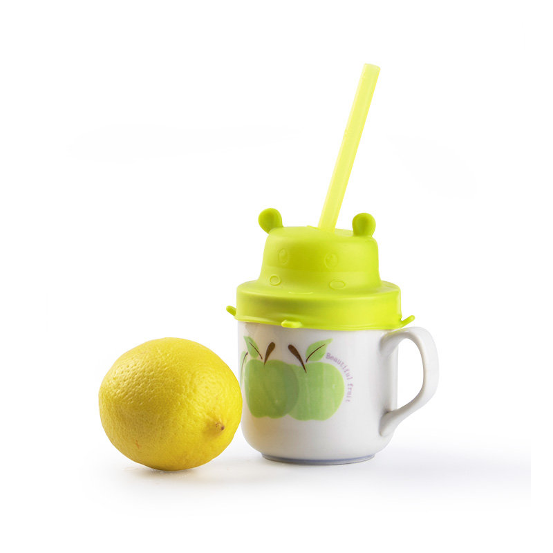 Smily mia reusable silicone cup sippy tops