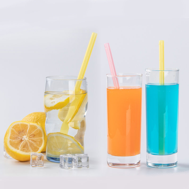 Smily Mia Reusable Liquid Drinking Straw(transparent)