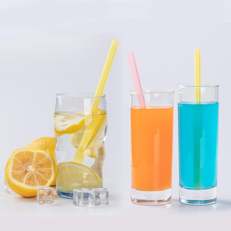 Smily Mia Reusable Liquid Drinking Straw(transparent)