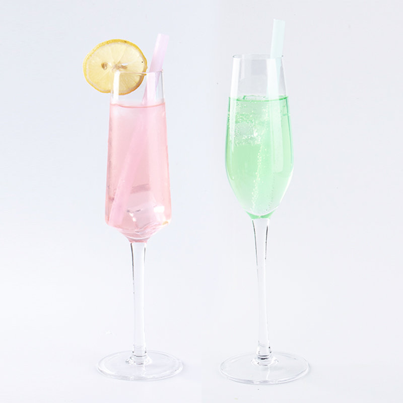 Smily mia cocktail reusable silicone drinking straw