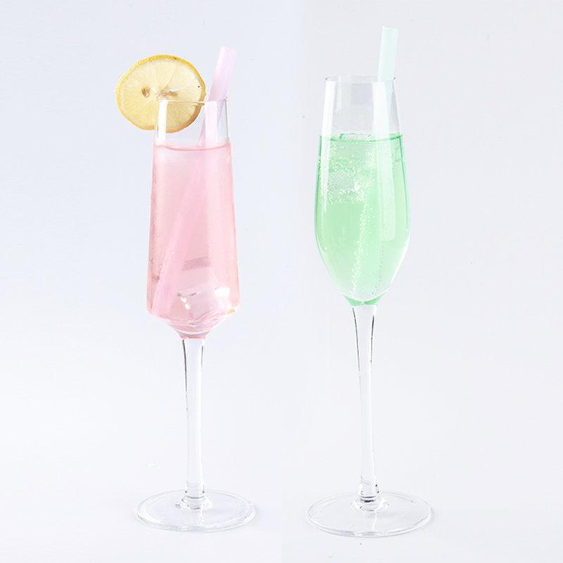 Smily mia cocktail reusable silicone drinking straw