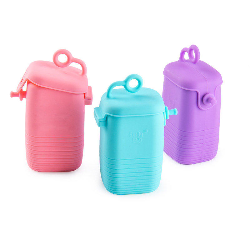 Smily Mia Silicone Straw/Accessory Storage Bag
