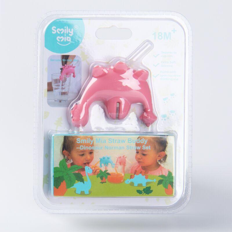 Smily Mia pink reusable straws price for alcohol-3
