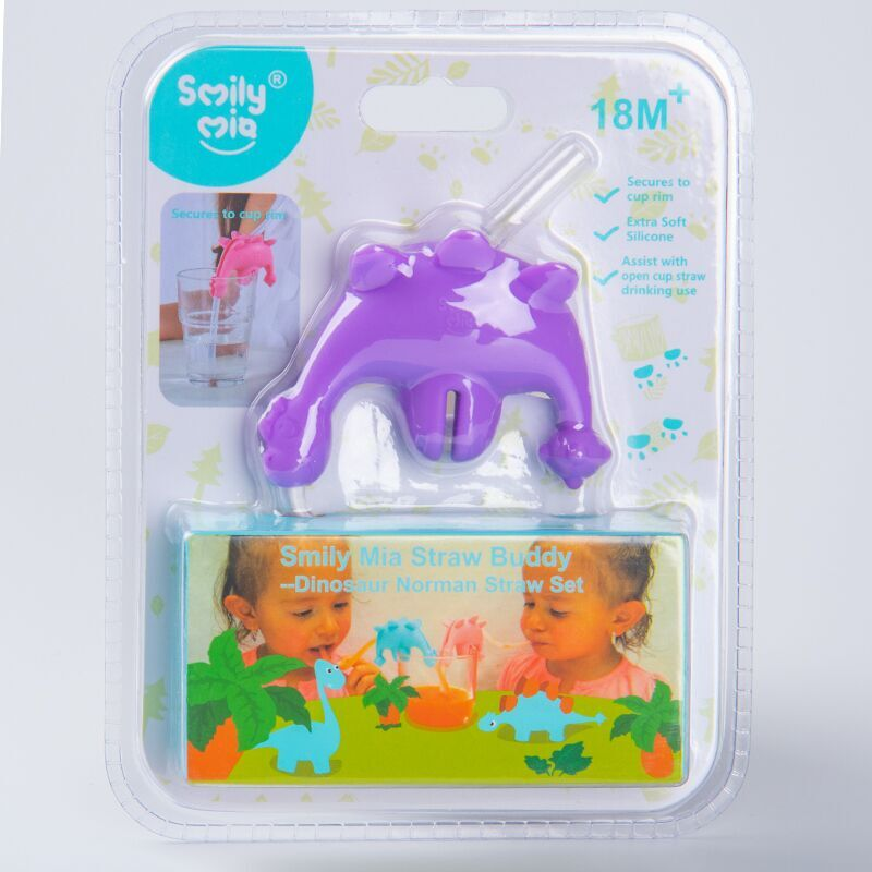 Smily Mia reusable silicone straws factory for drink-4