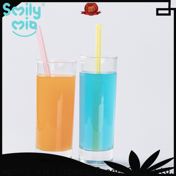wholesale rubber straws supplier for alcohol