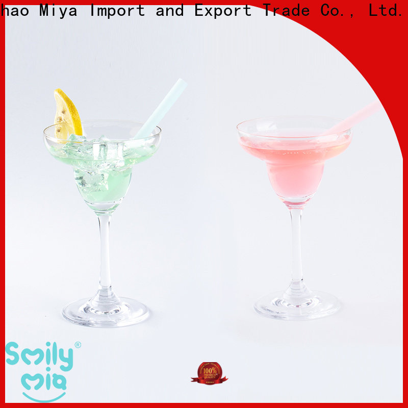 eco friendly reusable silicone straws price for alcohol