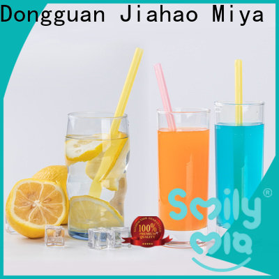 custom bubble tea sreaws manufacturer for juice