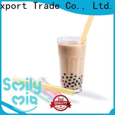 eco friendly bubble tea straws for juice