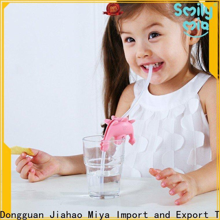 Smily Mia wholesale flexible reusable straws supplier for drink