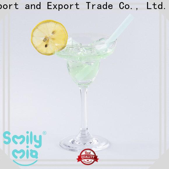 Smily Mia environmentally friendly straws manufacturer for juice