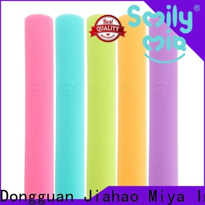 Smily Mia clear kids reusable straws manufacturer for toddler