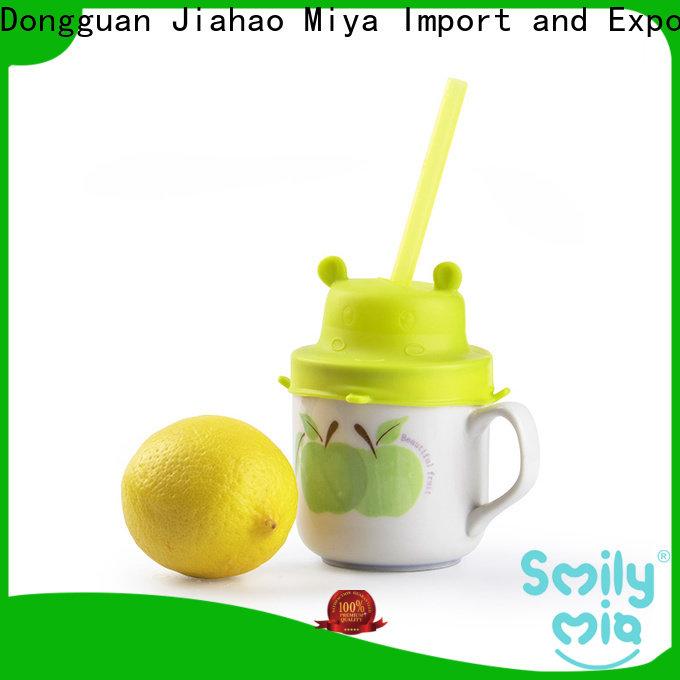 Smily Mia kids reusable straws supplier for toddler