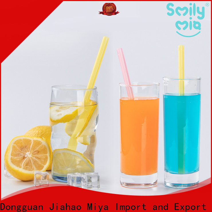 Smily Mia clear softy straws factory for alcohol
