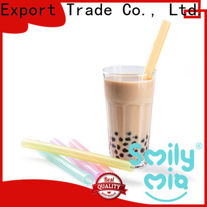 eco friendly softy straws factory for alcohol