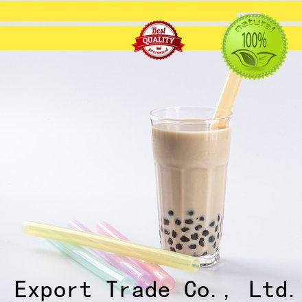 wholesale eco friendly drinking straws supplier for alcohol
