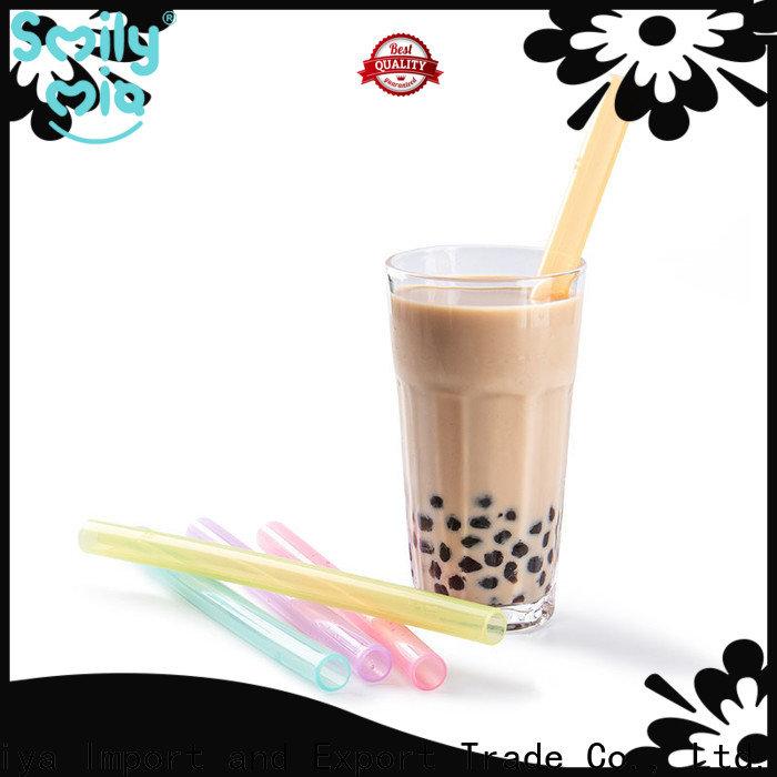 Smily Mia eco friendly kids reusable straws for home use