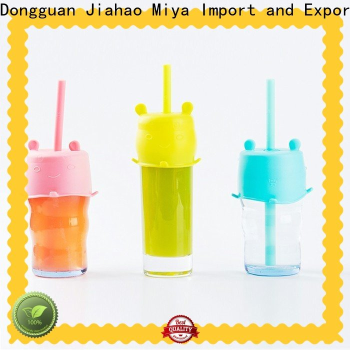 Smily Mia clear bubble tea sreaws for kids
