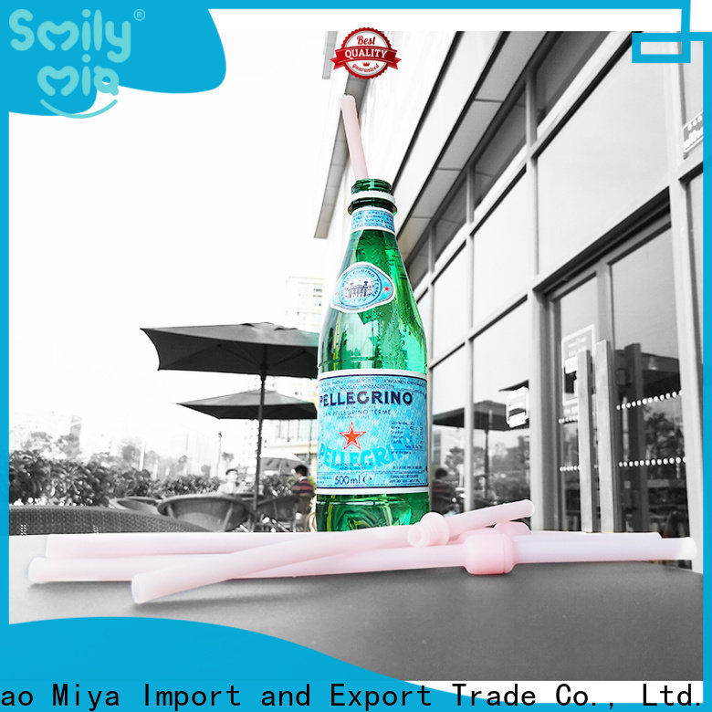 Smily Mia custom replace plastic straw supplier for drink