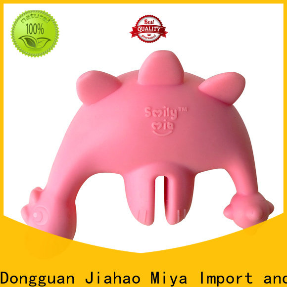Smily Mia soft natural rubber teether factory for child