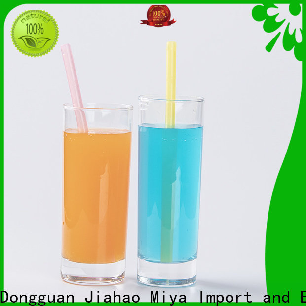 Smily Mia wholesale silicone drinking straws factory for alcohol
