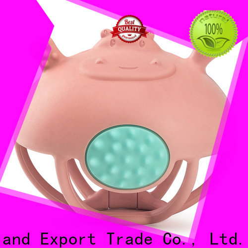 Smily Mia silicone baby teether manufacturer for child