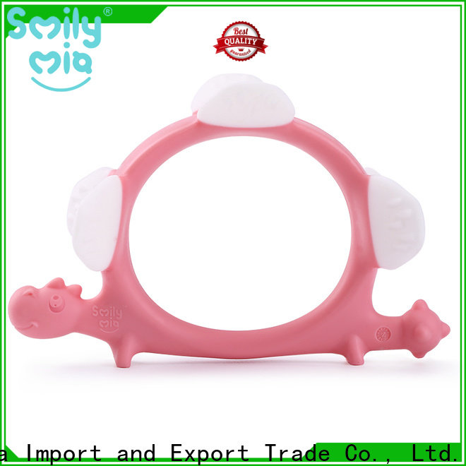 soft silicone teether wholesale manufacturer for baby