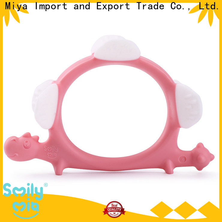 Smily Mia custom silicone baby teether price for child