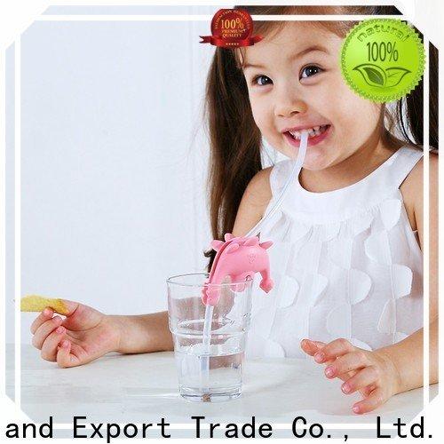 Smily Mia reusable smoothie straws supplier for toddler