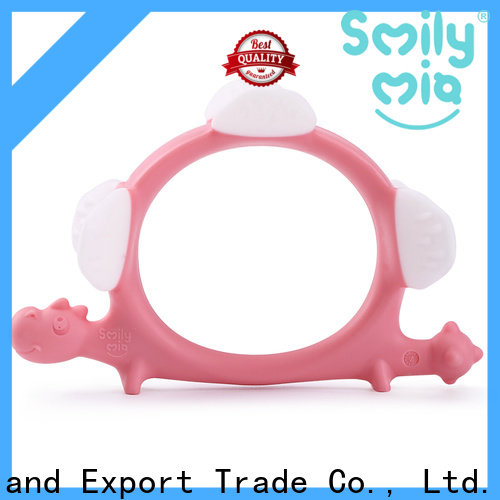 custom baby teethers and soothers supplier for child