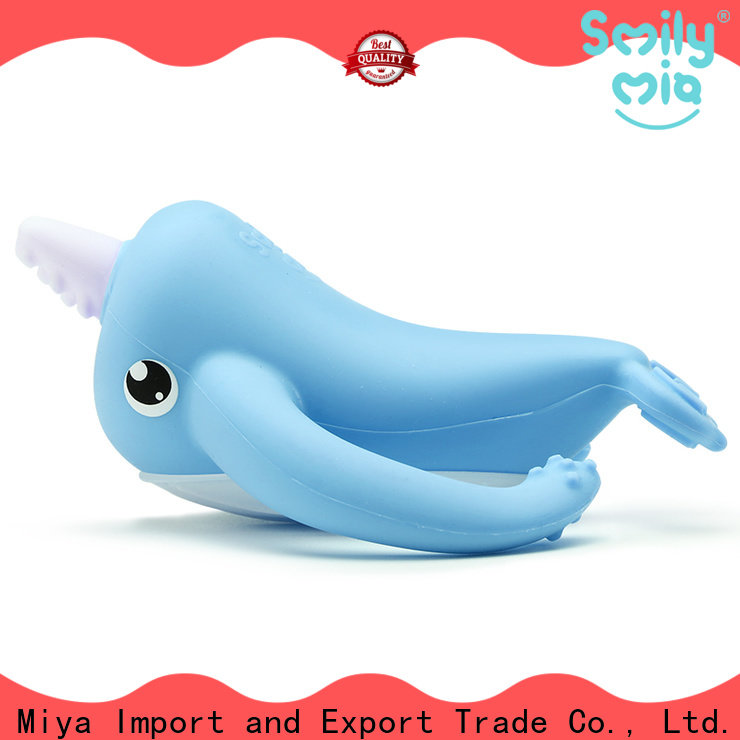 Smily Mia silicone baby teether supplier for baby