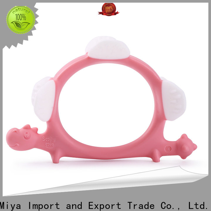 Smily Mia best best teether for 3 month old supplier for baby