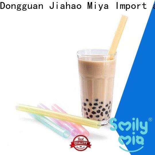 Smily Mia best reusable bendy straws factory for kids