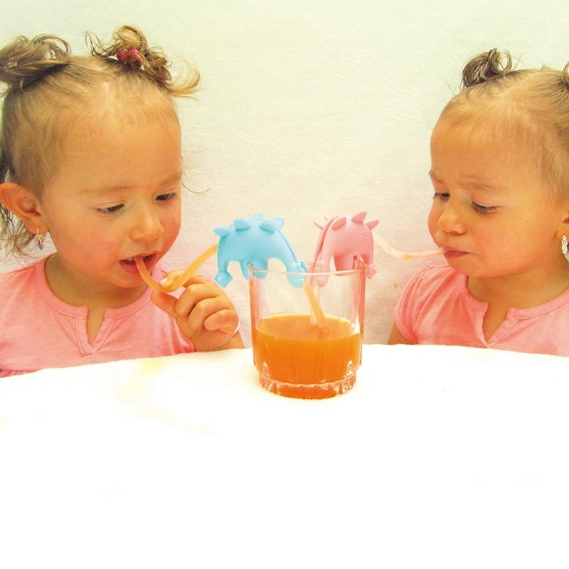 Smily Mia reusable silicone straws factory for drink-2